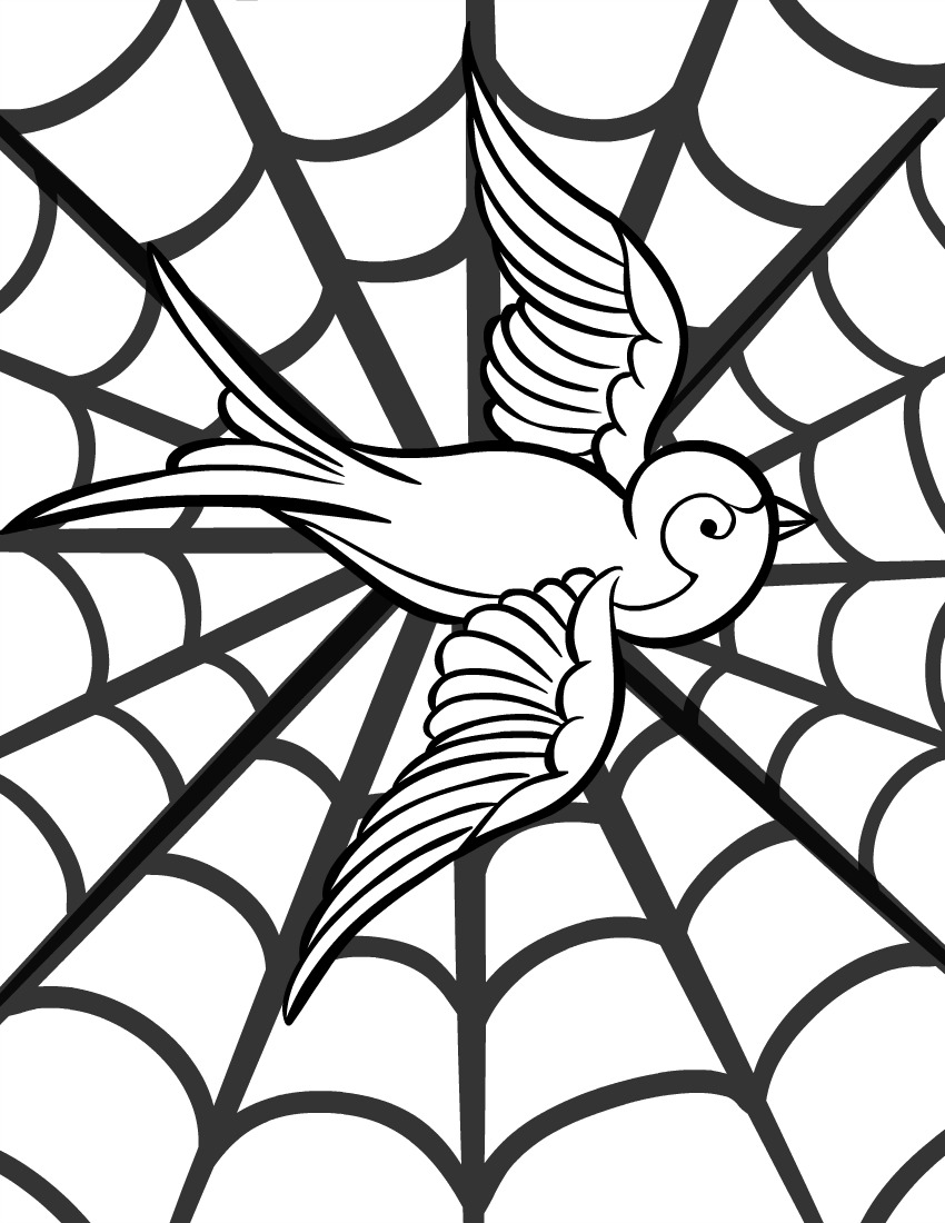 Free Printable Adult Coloring Page