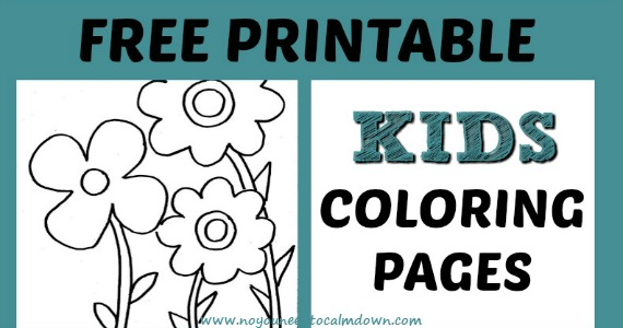 Coloring Pages For Kids - Free Printables